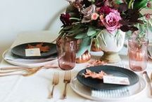 Table Top / Table decor ideas and inspiration