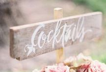 Wedding & Event Signs / Wedding and event signage ideas