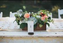 Wedding Tablescape / by Robin Budd