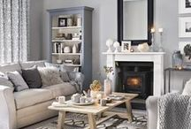 Home Inspiration: Lounge / Mood board for our lounge