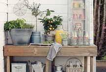 Home Inspiration: Garden / Mood board for our garden