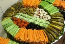 BUFFET IDEAS / Great food and presentation ideas