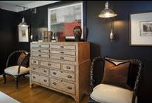 Masculine Room / Moody and masculine room design and inspiration