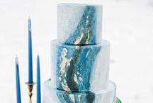 Geode Wedding Cakes / Beautiful geode wedding cakes for something a little different...
