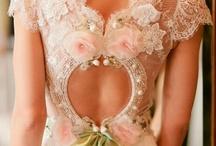 Lace wedding dresses / by Karen Kimmins