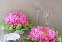 FLOWERS DIY / by Paty Ama
