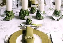Tablescape / by Claudia