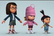 character design 3D / Humans characters 3D