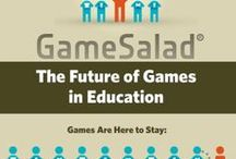 Game, learning infographics / Infographics from Serious Games, Games, Gamification, e-learning and education