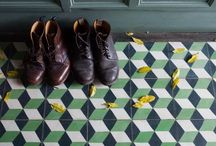 Tiles & Wood