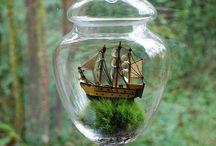 Garden Wonderland / Fairy gardens, garden art, succulents, colourful plants arrangements and magical gardens :)