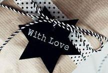 Idee regalo / Soprattutto pacchetti, la mia passione.