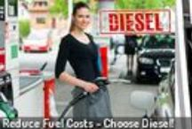 Hire one of our Diesel  Powered Cars! / Lower price per litre AND lower consumption at the same time!