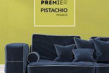 PREMIER Paint: Pistachio / Introducing our PREMIER Paint colour of the month for March: Pistachio! (Colour code: PR16E23) #PaintWithPREMIER