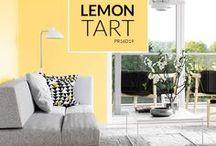 PREMIER Paint: Lemon Tart / Introducing our PREMIER Paint colour of the month for April: Lemon Tart! (Colour code: PR16D19) #PaintWithPREMIER