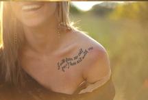 Tattoos, piercings