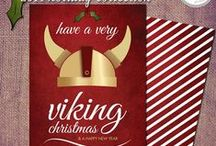 Holiday Greetings / Check out these festive invites/greetings for your next shin-dig.
