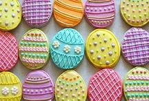 Easter Eats / With a four day weekend, Easter offers the perfect excuse to enjoy lots of get-togethers with family and friends. Here's some recipesand finishing touches we love.