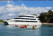 Overnight cruises / Explore the Hauraki Gulf on an overnight cruise on board Ipipiri. Since 2009 Ipipiri has cruised the beautiful Bay of Islands - from 2014 she'll be based in Auckland's Viaduct Harbour. Find out more: http://haurakibluecruises.co.nz/auckland-harbour-overnight-cruise/