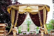 Lavish Indian Weddings / The bigger, the glitzier the better.