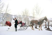 Winter Wedding Ideas / There's nothing more romantic then getting married in a winter wonderland