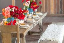 My summer outdoor party / Outdoor party ideas