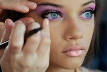 Make Up and Nails / Red lips, eyeshadow, eyeliner, etc. I love the way make-up changes people :)  Tips, tricks, tutorials and pictures of beautiful make-up