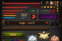GAME UI / Icon  Item  layout ..