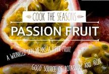 Cook The Seasons - Autumn & Winter / These are our favourite autumn and winter foods - we get so inspired by thinking of new ways to cook them!
