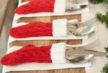 Christmas Tables & Decor / If you're going to be cooking beautiful food over Christmas, make sure your table décor is suitable stylish too.