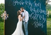 Inspiring wedding ideas / Not necessarily the prettiest pictures, but great and ingenious ideas to execute!