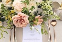 Table decoration & setting