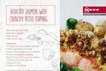 NEFF Recipes - Seafood / From salmon to prawn pizza, here are the most deliciously mouth-watering seafood recipes from our own NEFF kitchen.