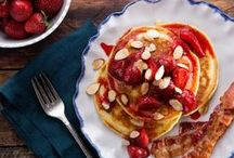 Pancake Paradise / We've collected our favourite pancake topping ideas together to inspire you. Breakfast need never be boring again!