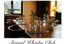 SWC Gallery / Pictures from Stroud Whisky Club meetings. Whisky Gloucestershire