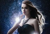 """Dark Allure / ARTĒ introduces Autumn / Winter 2013 Dark Allure collection with black and white stones that represents eternity with their chic attributes. Inspired by """"light in the dark"""" to reveal glistening light in pitch darkness, impeccable shimmer is fully radiated to perfection."""