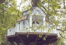 Baumhäuser -  Treehouses  / Ich finde sie so ..zauberhaft und würde gerne mal in ein!em ..WOHNEN !