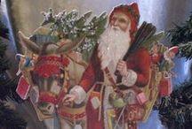 Meine Vintage-Weihnachts-Aufsteller- arts and crafts / Meine Leidenschaft gehört den nostalgischen Motiven um 1900 u besonders der...Weihnachtszeit! Werden von mir in Handarbeit hergestellt.  ....my passion - hand-made wooden stand-up figures