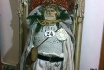 SANTA dolls /  Father Christmas - Santa   art doll & more