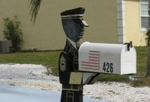 Mailboxes / by JoAnn Moyer