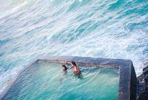 P A R A D I S E  P O O L S  / Paradise pools / paradijselijke zwambaden