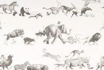 AI - Papier peint faune