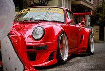 Porsche RWB, incredible tuning / by M Battuello