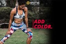 SHEruns / Look good and feel good during your fitness and training regimes! The SKINS A200 and A400 Women's Compression Clothing range features a variety of colourways to keep your fitness wardrobe looking fresh and up to date.