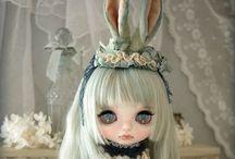 Dockor/ dolls/ Blythe / Unika & vackra! http://en.m.wikipedia.org/wiki/Blythe_%28doll%29