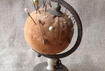 Stick a pin in it / Vintage pin cushions