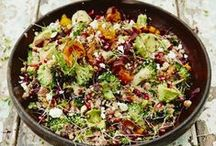 Summer Salads / It's hot, you're busy. Salads are the perfect way to eat healthy with no effort.