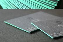 Business Card - inspirations / Business cards inspiring graphic design
