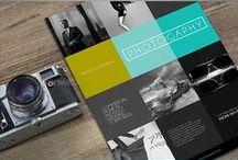 Flyers design / Pomysły na oryginalne ulotki, ulotki składane, foldery...