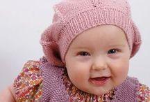 Strikkebogen Baby strik  / Strikkebogen Baby strik